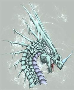 information about cool ice dragons drawings