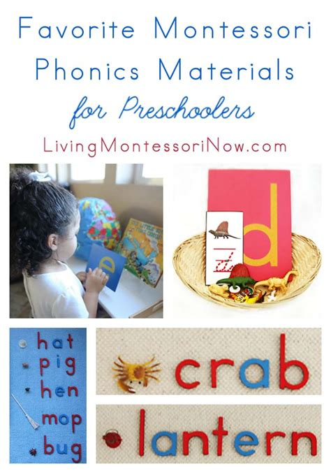 list of montessori materials for preschool favorite montessori phonics materials for preschoolers 412