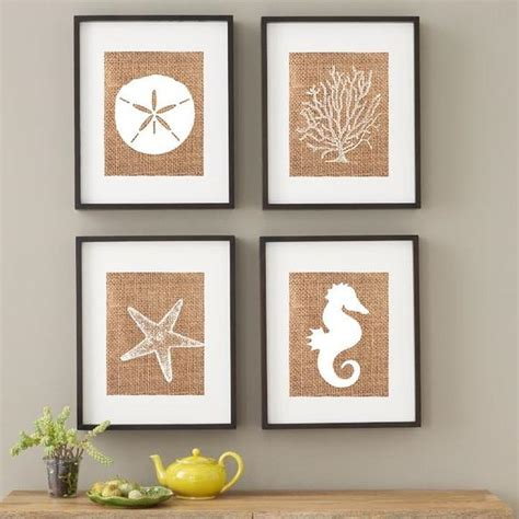 Shop for beach wall decor online at target. Items similar to Beach House Decor / Faux Burlap Custom Art / Rustic Wedding Gifts ...
