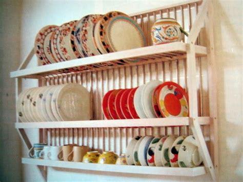 wall hung dish rack