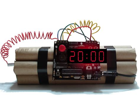 20 Minutes Countdown Dynamite Timer