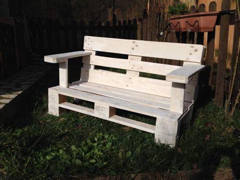 Costruire Una Panchina by Come Costruire Una Panchina Con Due Bancali Quot