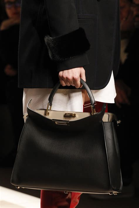 fendi fallwinter  runway bag collection spotted fashion