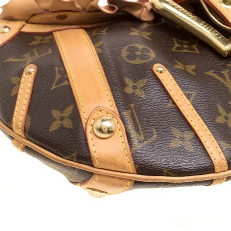 louis vuitton monogram canvas limited edition leonor bag  sale  stdibs