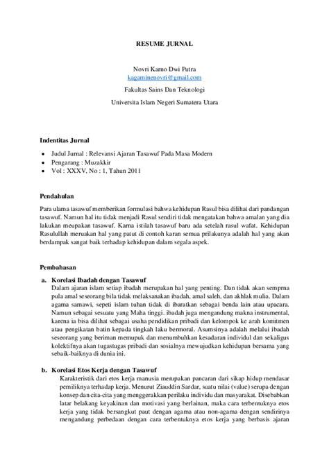 pdf resume jurnal novri karno academia edu