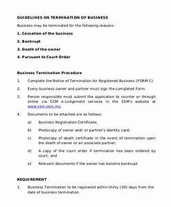 Free Sample Letter Of Termination Of Employment Contract Free 37 Sample Termination Letter Templates In Pdf Ms Word