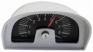 Gto Hood Tachometer Dixco Style  8000 Rpm Fits 1964