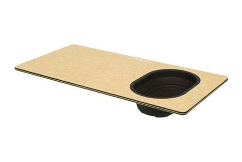 epicurean over the sink cutting board with colander 20 x