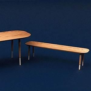 Banc En Chene : banc en bois le banc l 39 assise tendance qui remplace la chaise elle d coration ~ Teatrodelosmanantiales.com Idées de Décoration