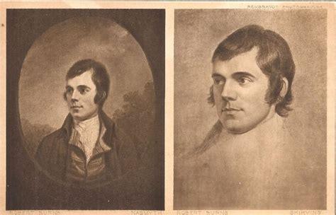 Robert Burns Portraits from The Scottish National Portrait ...