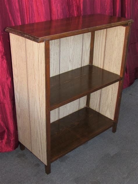 Sturdy Bookcase by Lot Detail Sturdy Bookcase With Room For Your Big Books