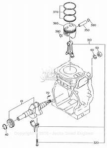 Robin  Subaru Eh17 Parts Diagram For Crankshaft  Piston