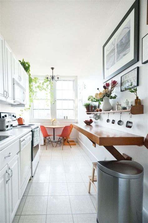 plan cuisine en longueur comment aménager une cuisine en longueur