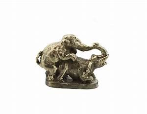 Elephant Porte Bonheur : amulette thai de fecondite elephant love charm porte bonheur thailande g13 ~ Melissatoandfro.com Idées de Décoration