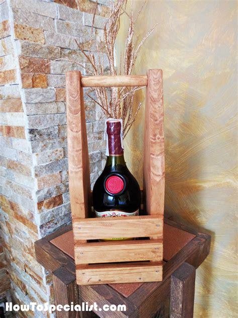 diy wine caddy myoutdoorplans  woodworking plans