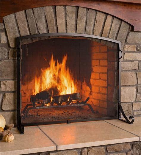 fireplace screens  winter  decorative