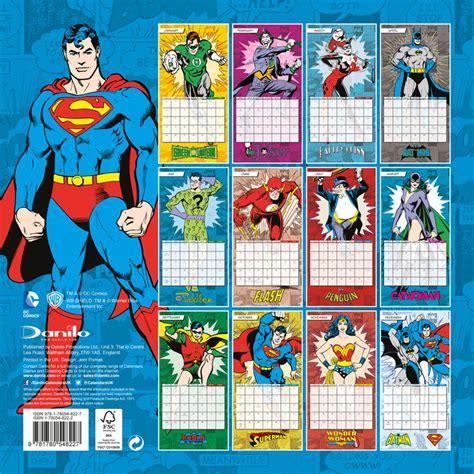 calendario dc comics em europosterspt