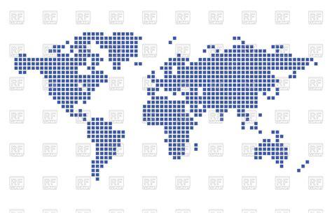 pixel world map vector of backgrounds textures