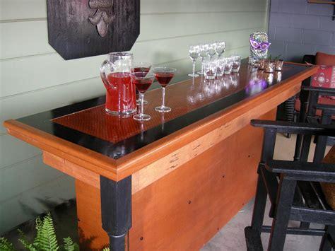 build  bar   reclaimed door   top hgtv