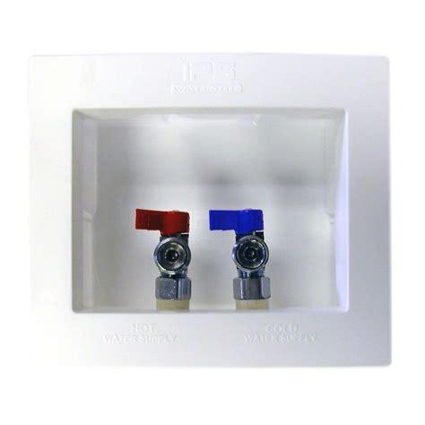 du all plumbing water tite du all 1 2 in brass dual drain washing machine