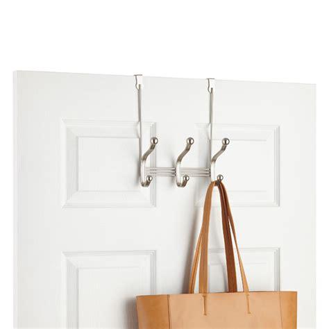 the door coat rack interdesign york the door coat hat rack the