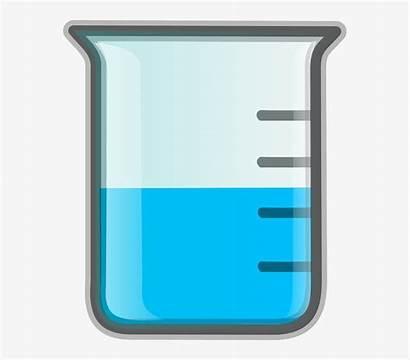 Science Beaker Cartoon Tools Chemistry Clipart Chemical