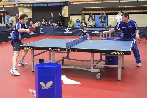 le tennis de table fran 231 ais 224 l heure du renouveau 2016 jeux olympiques
