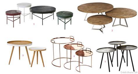 table basse bout de canapé 20 tables basses gigognes à partir de 59 99 maison créative