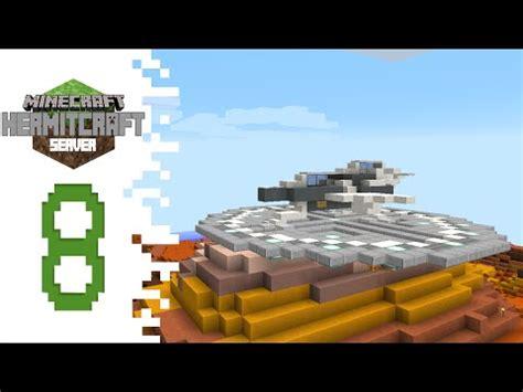 Hermitcraft (minecraft)  Ep08  Spaceship Build! Mindcrack