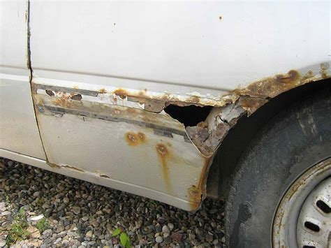rust hole repair fix cars auto body mot worse before 1988 vehicle damage checks holes lifetime restoration tempo turns mystery