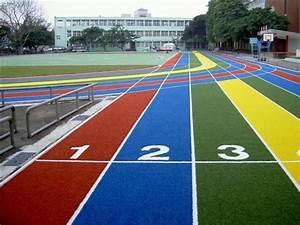 Athletic Sports Play Ground Court Rubber Flooring in Navi ...