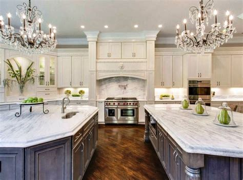 20 beautiful kitchens with white beautiful kitchen with white cabinets two islands two