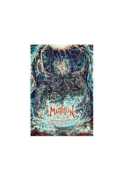 Mastodon Poster Gojira Kvelertak Posters Gig Band