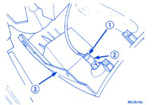 chrysler concorde  trunk release electrical circuit