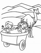 Wagon Coloring Covered Pages Drawing Pioneer Chuck Train Riding Template Hay Getcolorings Getdrawings Printable Trend Sketch sketch template
