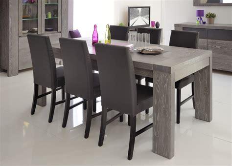 table de salle  manger grise table haute de cuisine