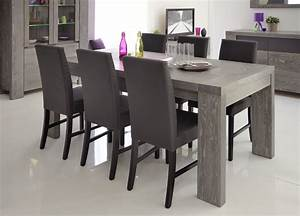 Table Salle A Manger Grise Table A Manger Blanc Trendsetter
