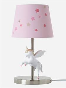 Lampe De Chevet Ado : lampe de chevet licorne rose vertbaudet lampe chevet fille with table chevet fille ~ Teatrodelosmanantiales.com Idées de Décoration