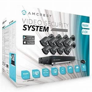 Amazon Com  Amcrest 960h 8ch 1tb Security System