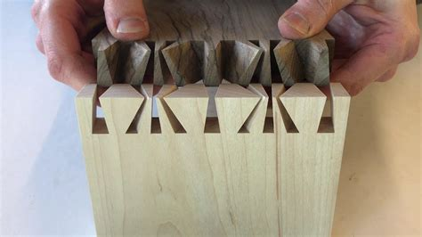hand cut japanese dovetail joint   theo cook youtube