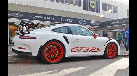 Porsche 911 Gt3 Clubsport Auktion by Porsche Gt3 Rs Clubsport 991 Launch