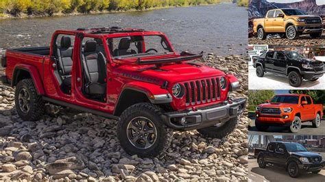 Gas Mileage For 2020 Jeep Gladiator by Comparison 2020 Jeep Gladiator Vs 2019 Ford Ranger