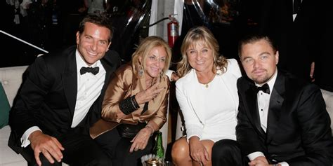 Bradley Cooper Leonardo Dicaprio Party With Their Moms
