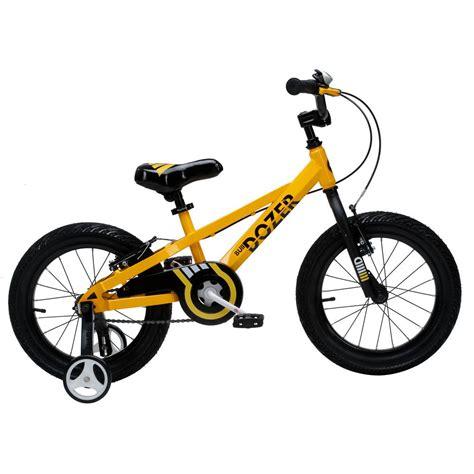 Royalbaby 16 In Bull Dozer Heavyduty Kids Bike With