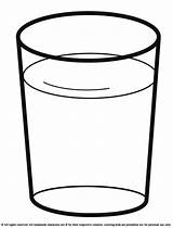 Glass Water Clipart Coloring Pages Drinks Cup Drink Milk Drawing Bottle Drinking Cliparts Printable Clipartmag Letters Clip Template Colour Getdrawings sketch template