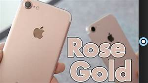 Rose Gold Sprühlack : rose gold iphone 7 unboxing first impressions youtube ~ Avissmed.com Haus und Dekorationen