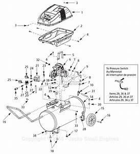 Campbell Hausfeld Wl650100 Parts Diagram For Air