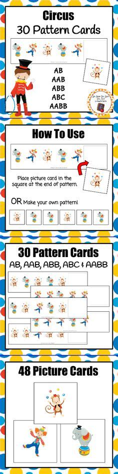 circus theme math and language printables circus theme 961 | 6240fe9a8a65baf80b956b9de61b33d0 circus lesson plans preschool circus theme preschool