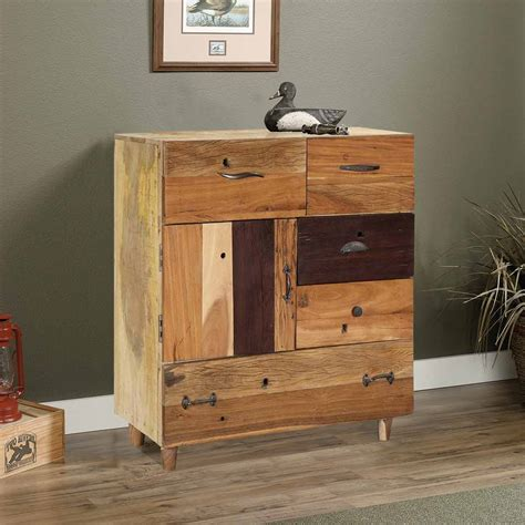 bureau modern dessau modern solid wood 5 drawer rustic bureau chest