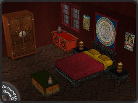 sims  objects bedroom tibetan